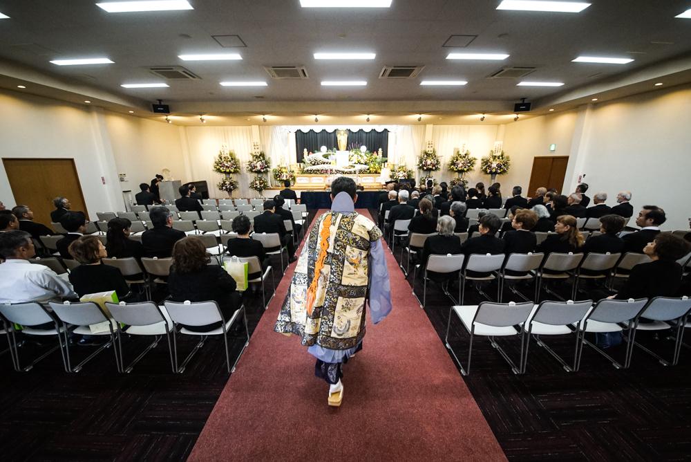 お葬式の出張撮影