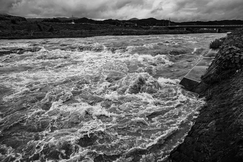 彦山川 記録的大雨