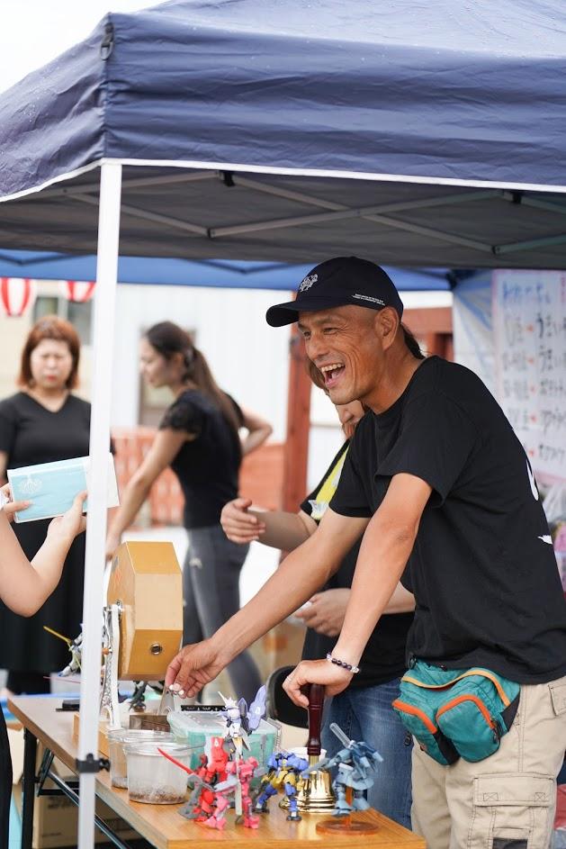 田川イベントガラポン撮影5
