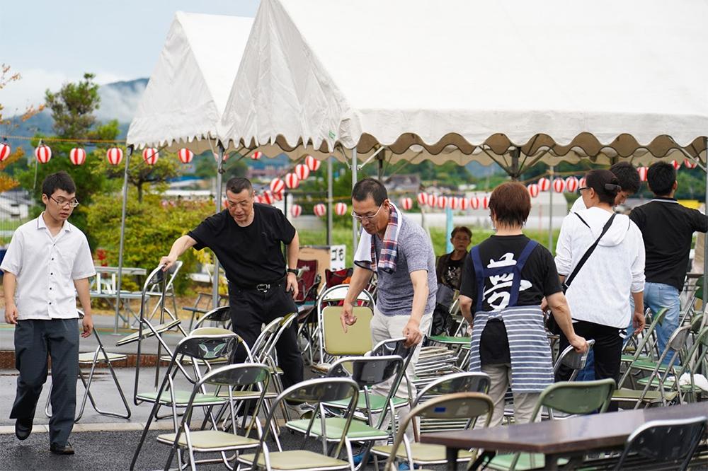 田川イベント準備撮影2