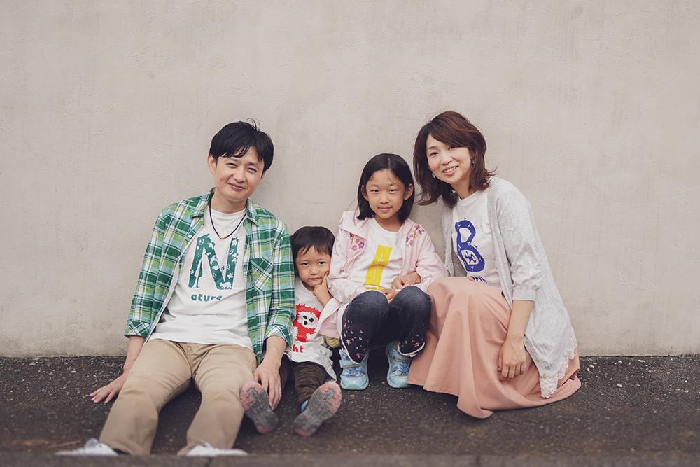 家族の写真撮影出張カメラマン