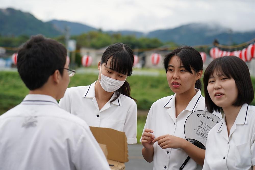 イベントステージ福智高校ボランティア部撮影5