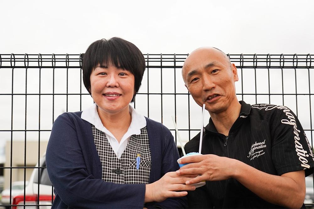 田川イベントかき氷撮影1