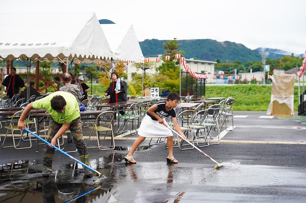 田川イベント準備撮影1