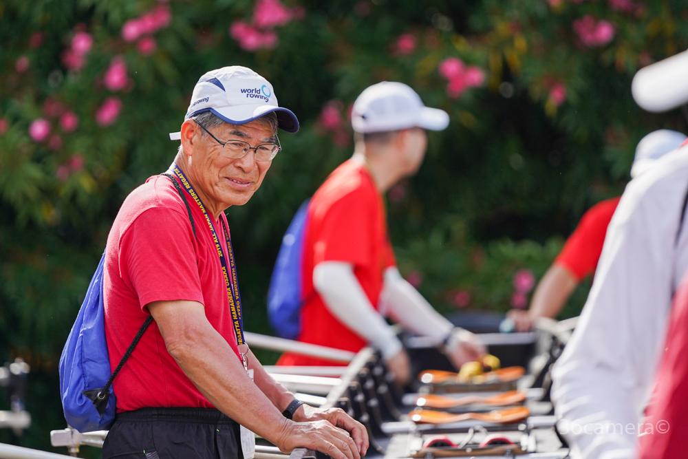 全日本マスターズレガッタ2019 三菱ボートクラブシニア 写真