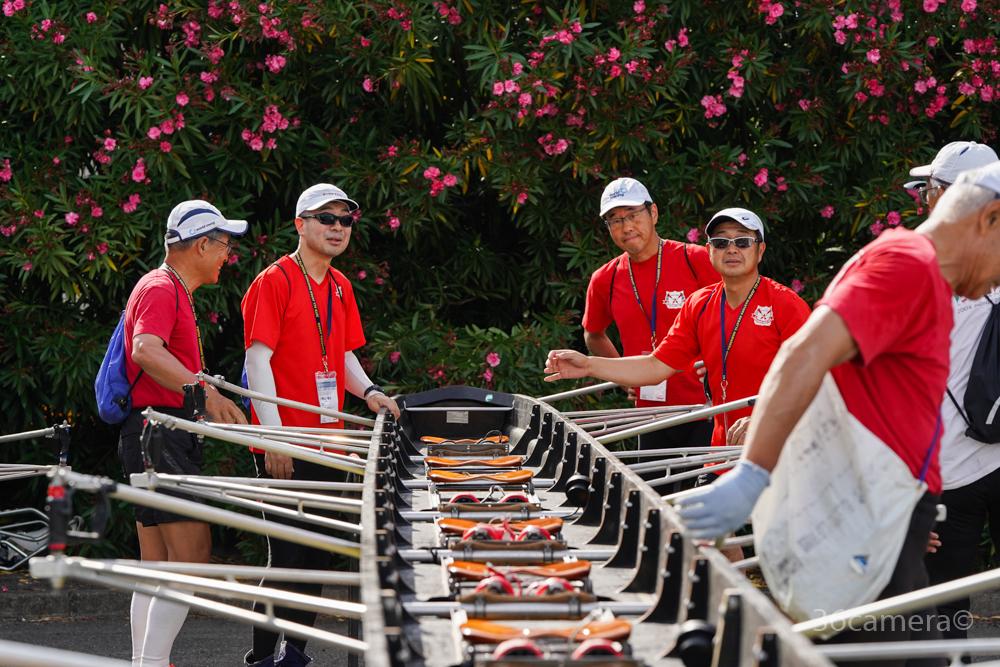 三菱ボートクラブシニア ボート競技 エイト