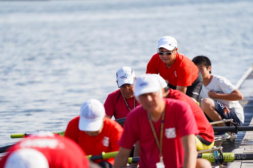 全日本マスターズレガッタ2019 ボート競技 写真3