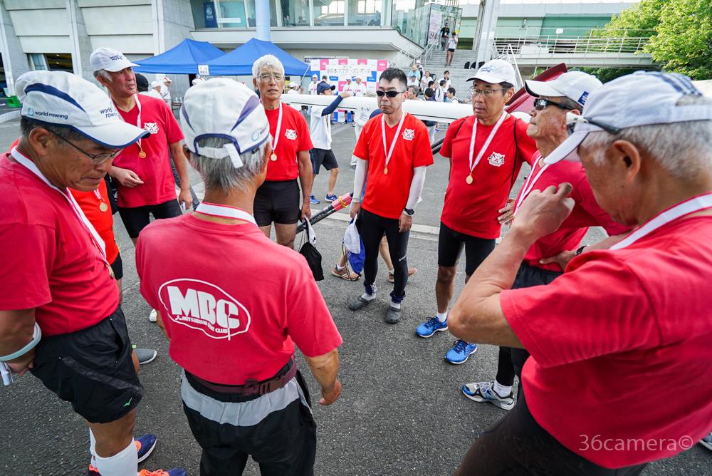 全日本マスターズレガッタ2019 三菱ボートクラブシニア