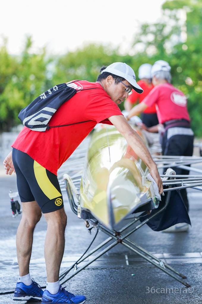 ボート競技 全日本マスターズレガッタ 写真