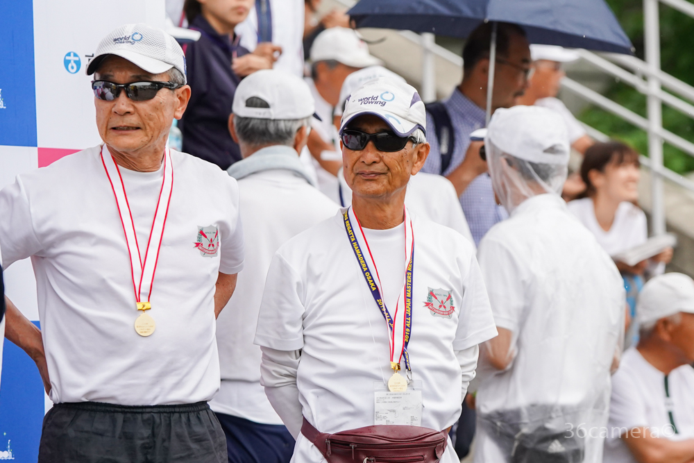 ボート競技 2019全日本マスターズレガッタ ナックル優勝1