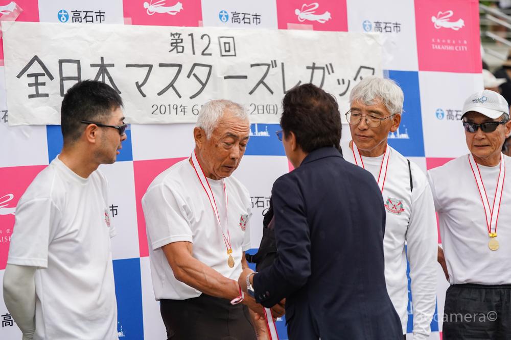 出張撮影 全日本マスターズレガッタ浜寺 優勝2