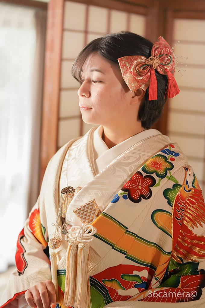 花嫁和装写真撮影2