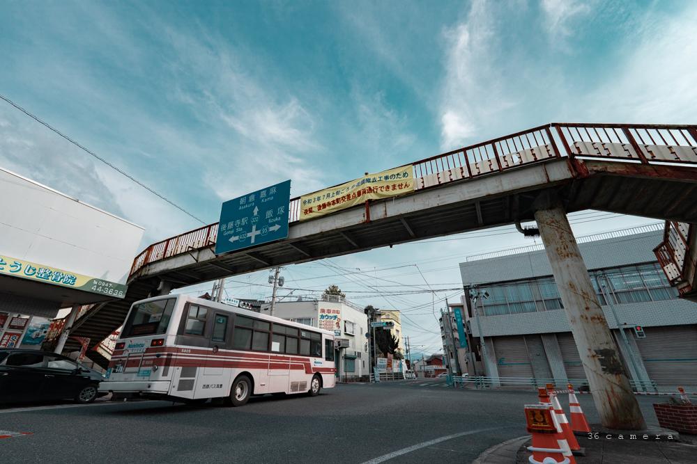 田川市後藤寺ターミナル歩道橋